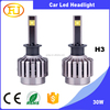 New LED Car Lamp Headlight Kit 30w 2880lm H3 H7 H4 H11 H13 9005 9006 9004 9007 Led Headlight Bulbs