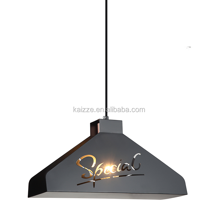 Nordic Simple Style Child Room Chandeliers Living Room Hanging Lamp Iron Dining Table Pendant Lamp