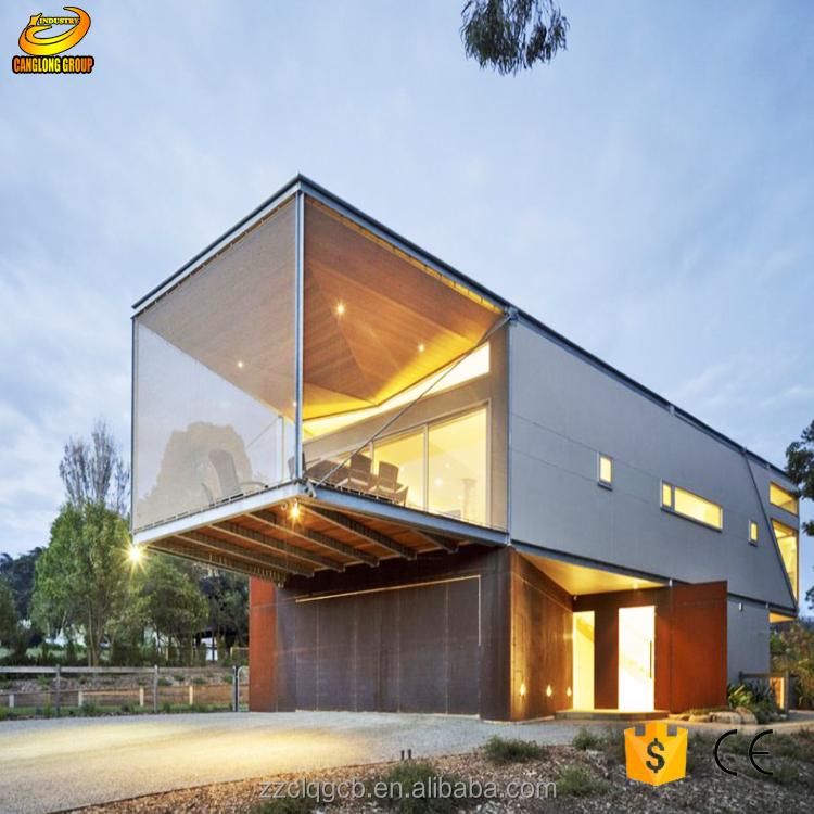 China Prefabricated Modular Guest Homes Prefab Hotel and Vila cheap the Prefab House for sale