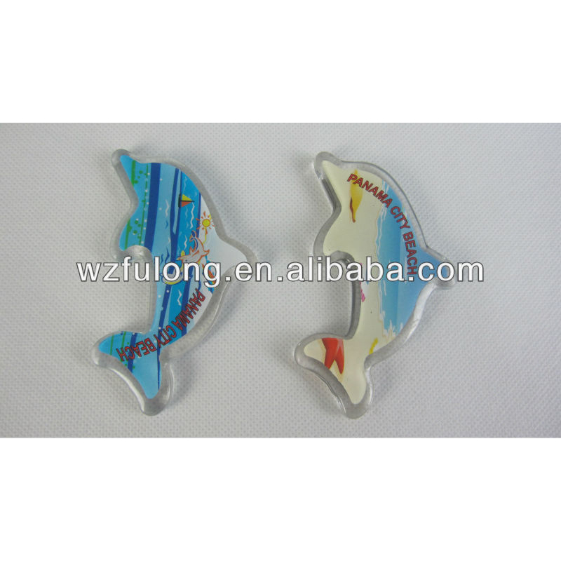 Fish fridge shaped custom design magnet