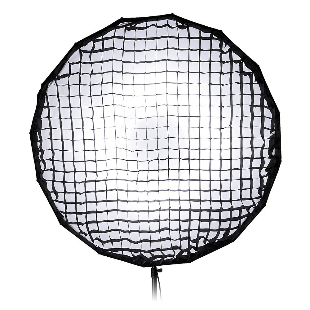 100cm M-Series and Compatible Collapsible Beauty Dish and Softbox Combination with Eggcrate Grid and Speedring for Novatron FC-Series Pro Studio Solutions EZ-Pro 40in