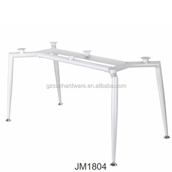 Modern Easy Assembling Office Furniture Parts Metal Table Frames