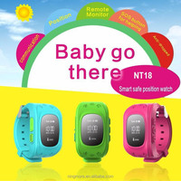 2016 Live tracking site Wrist watch phone gps tracking device for kids / Position monitoring kids gps watch phone /Sos calling