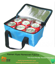6 cans coca cola middle handle style manufacturer tote cooler bag