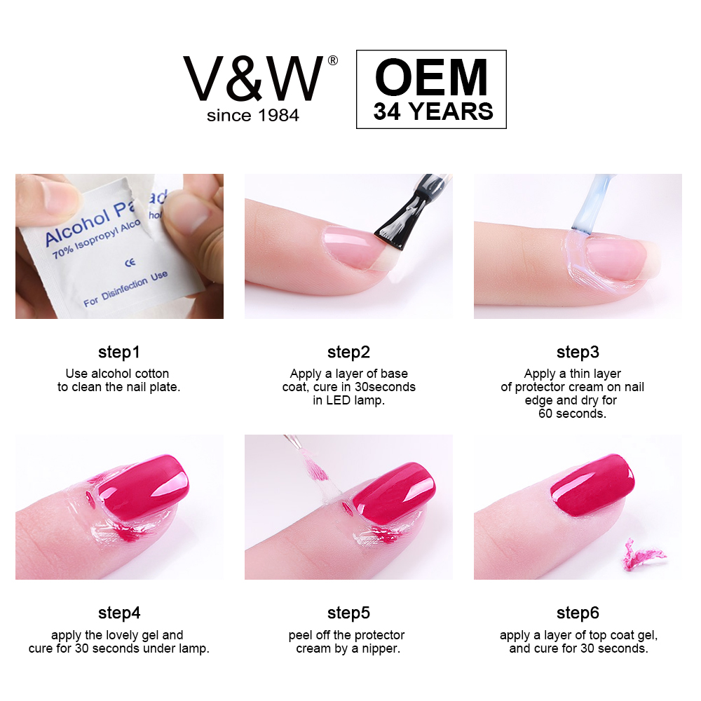 OEM/V&W Cosmetics Factory   Professional Convenient  Protector Cream (CUITICLE DEFENDER)