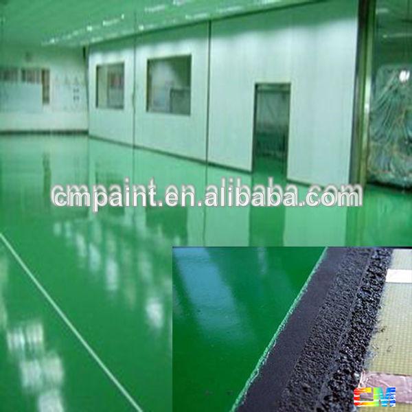Epoxy Floor Paint Waterproof Basketball Court Textile Factory Resin Flooring Coating