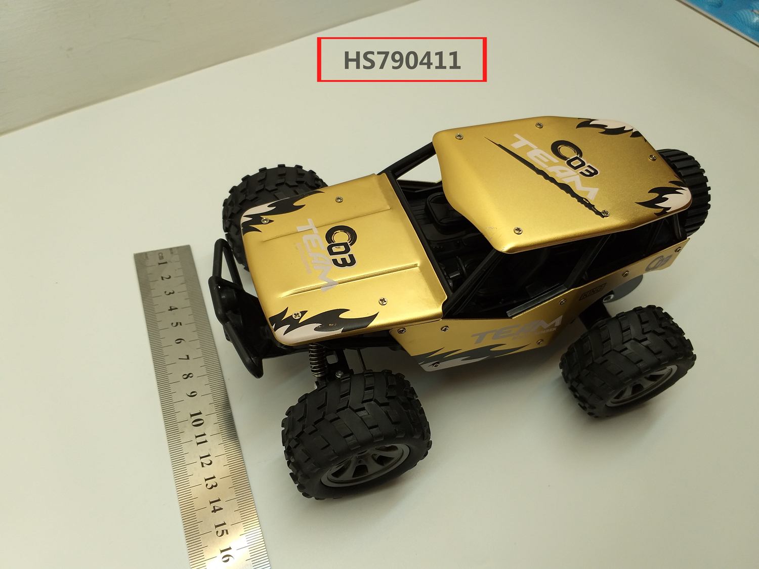 HS790411, Huwsin Toys, 118 2.4G Alloy rc car,red/blue/gold 3color mixed, Remote Control High Speed Vehicle RC Toys