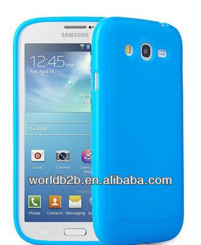 glossy TPU gel Cover for samsung galaxy mega 5.8 i9150