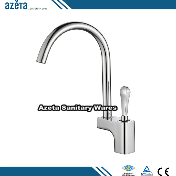 Europe Popular Single Lever Brushed Mixer Taps Exquisite Kitchen Faucet