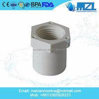 MZL CPVC PVC best price 2 inch pvc pipe fittings/cpvc end caps for water supplier