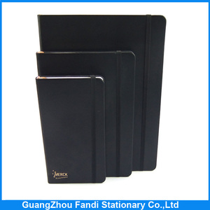 custom made pu leather cover diary notebook for moleskin notebook
