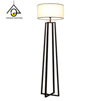 2019 new arrival iron led decorative floor lamps for living room made in china