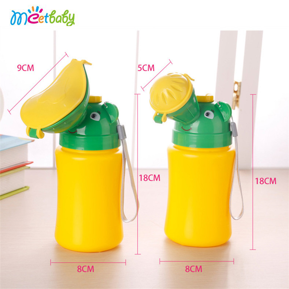 Kid Portable Urinal Toilet Potty Training Baby Boy Girl Cars Travel Supply 480ML