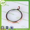 Decorative curtain rings,square metal curtain rings