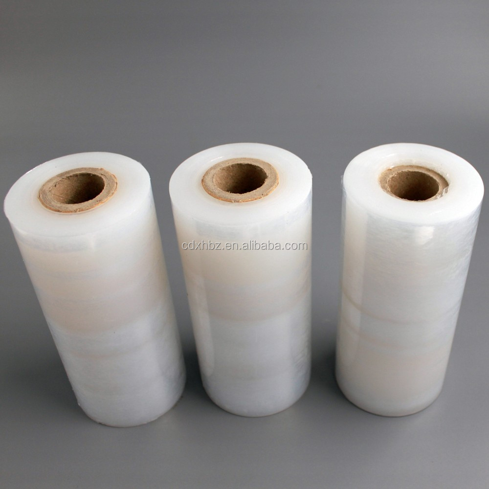 high transparency 4cm-200cm factory direct lldpe pre-stretch film with sgs test report