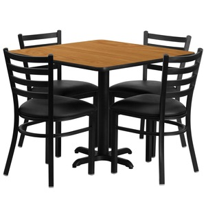 Food court/fast food restaurant table chairs