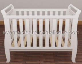 whole sale high quality solid wood adult baby crib