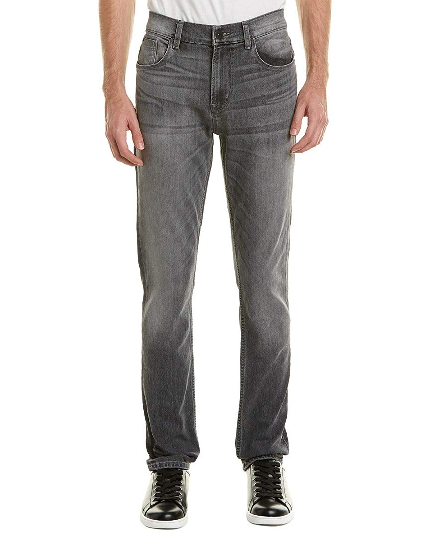 Hudson Jeans Men/'s Byron Straight Leg Jeans Westman Grey Denim