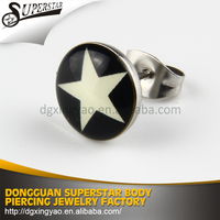 New design hoop stud earring jewelry for men
