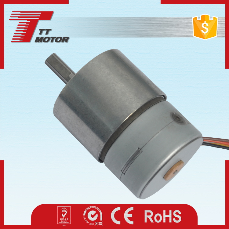 Magnetic electric 24v DC pm with gear box stepping motors