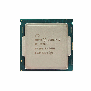 Shenzhen Huaqiang Second Hand Used Original Intel Quad Core Processor Integrated Graphics Intel Core I7 6700