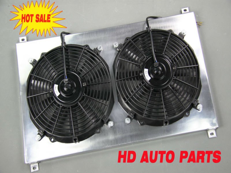 Aluminum Auto Car Radiator Shroud Fan For Mazda Miata MX5 90-97