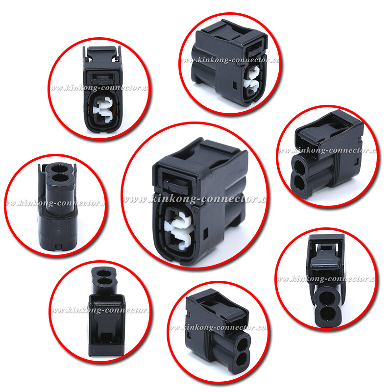 2 Pin black femaleToyota Style Injector Connector & Ignition Coil Kit ( Toyota # 90980-11246 )7283-8226-30