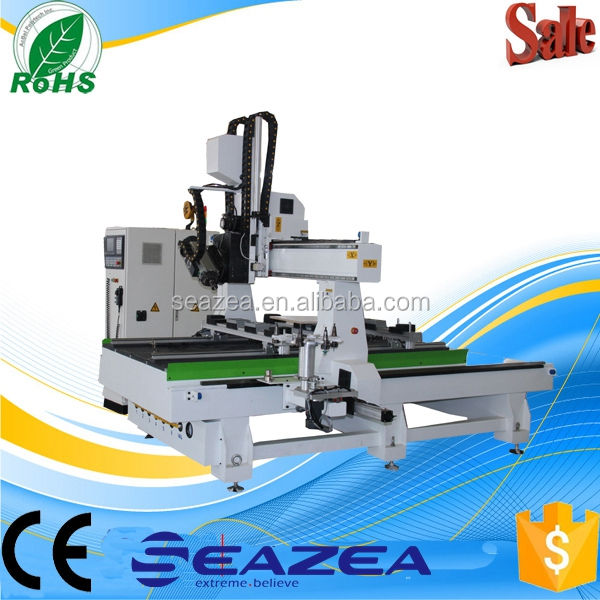 Seazea 2040 ATC 4 Axis Cnc Wood Carving Machine/MDF Board Cutting Cnc Router