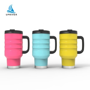 900ml stainless steel sport double wall vacuum insulated eco friendly travel thermo tumbler with pp lid