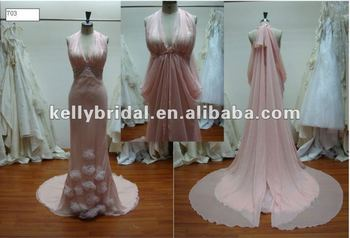 Como hacer vestido de novia con cauda
