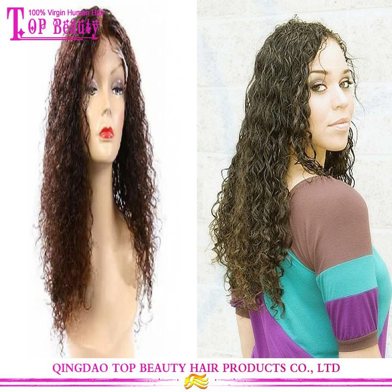 Fashion Style Celebrity Full Lace Wig For Black Women Indian Remy Hair