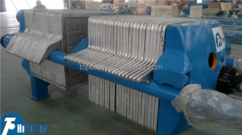 Plate And Frame Filter Press Animation Cast Iron Plate