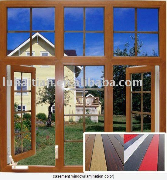 China Supplier Pvc Window Design Blind Swing Aluminum Alloy Door ...