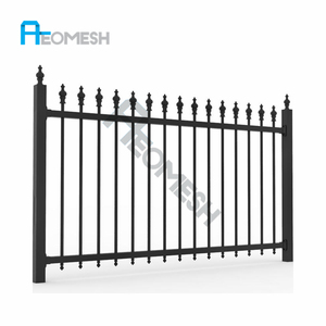 Good Quality & Easily Installed Aluminum u shaped fence post/economic garden fence/modern gates and fences