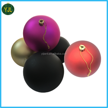 Factory wholesale most popular Plastic Plating Seamless balls for Christmas Decoration