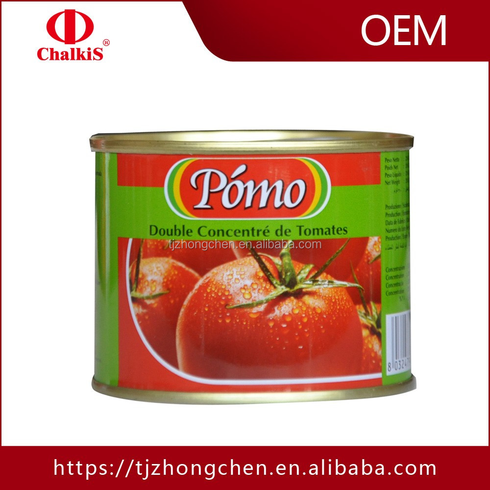 canned food 28-30%brix tomato paste tomato paste price