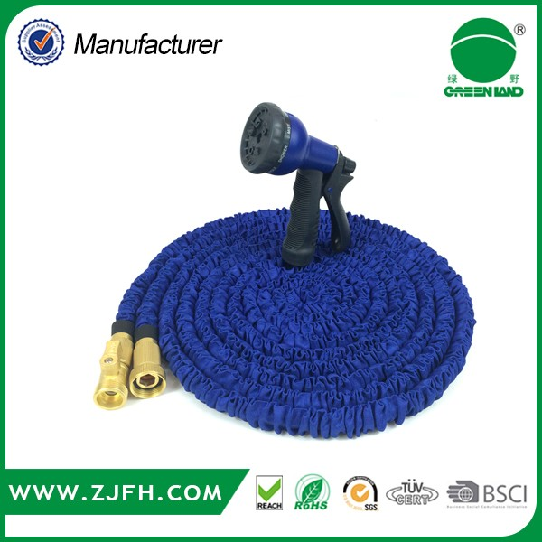 Plastic Nozzle expansion hose / brass garden hose swivel connector