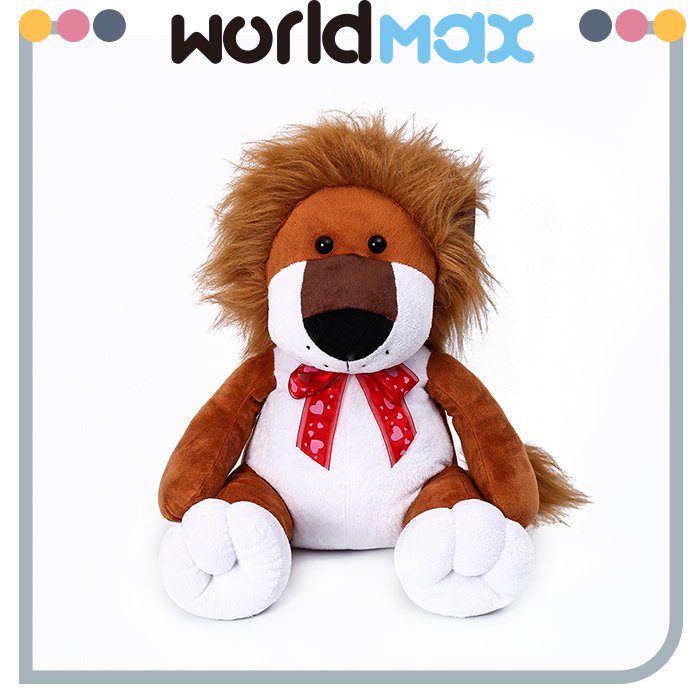 Wholesale Products Cartoon Lion And Leopard Plush Toy