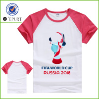 2018 Russia football world cup fans soccer t shirt