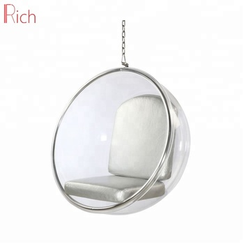 Factory Price Hanging Acrylic Bubble Ball Chair