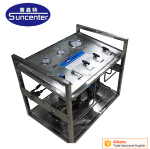 Sucenter 10 bar -6000 range oil field pneumatic chemical injection pump system