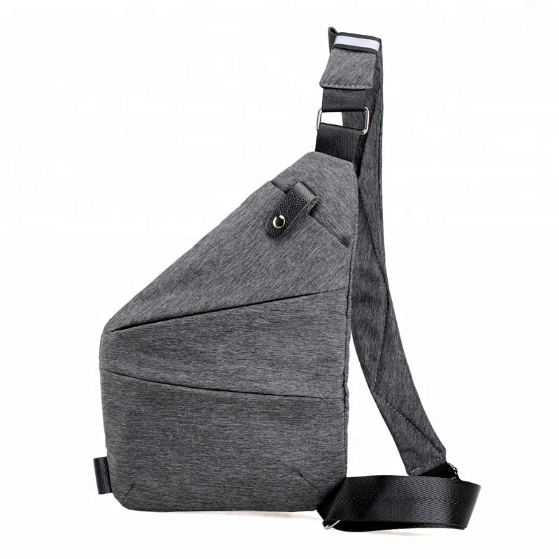 큰 capacity Cross 몸 single shoulder sling oxford 가슴 bag men