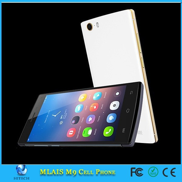 "Mlais M9 Android 4.4 3G Smartphone 5.0"" mobile phone MTK6592M 1.4GHz Octa Core cell phones"