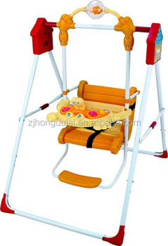 2016 New Baby Swing Buy Indoor Swing Chair With Stand Hanging Swing Chair Garden Iron Swing Product On Alibaba Com