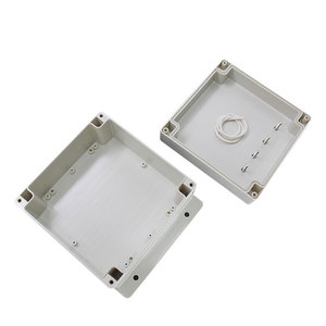 Oem Anodizing Outdoor Instrument Abs Water Pump Control Aluminum Enclosures For Electronics Waterproof Underground Junction Box