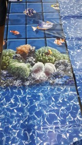 Customize pvc pool liner with swimming pool liner welding gun
