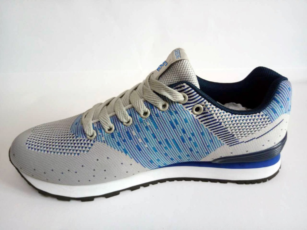 2017 Soft breathable women sports running shoes wholesale