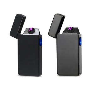 Wholesale LED Button Portable Rechargeable USB Electronic Cheap Novelty Cigarette LIGHTER