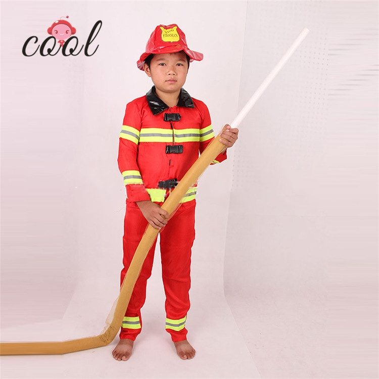 1edc7c9da2d0 factory price fancy halloween party fireman cosplay costumes for children