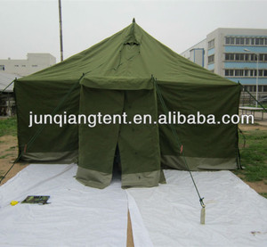 Cotton military tent for 12 persons